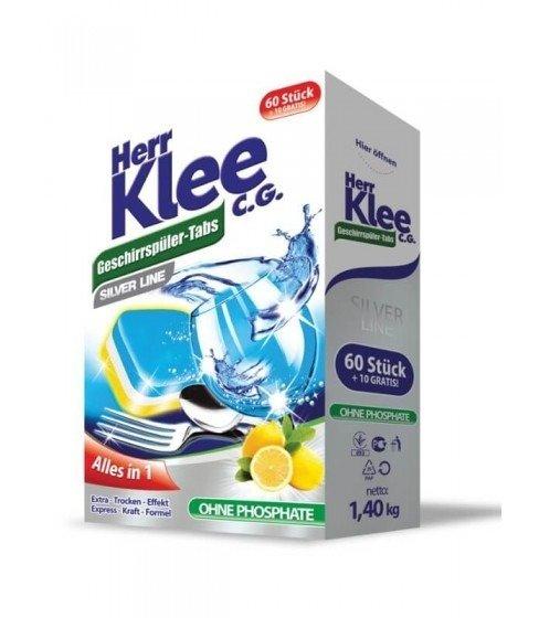 Tabletki do zmywarki Herr Klee C.G. Silver Line 70 sztuk